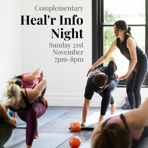 Heal'r Complementary Info Night